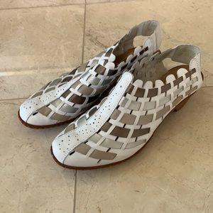 Rieker Women's Sina White Shoes